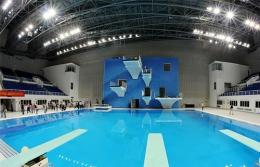 广西体育中心二期跳水游泳馆工程.